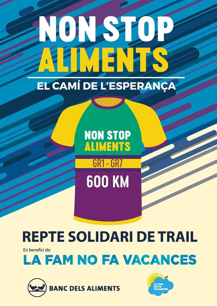 Trail non stop aliments