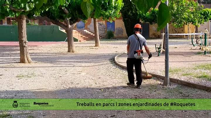 manteniment zones verdes