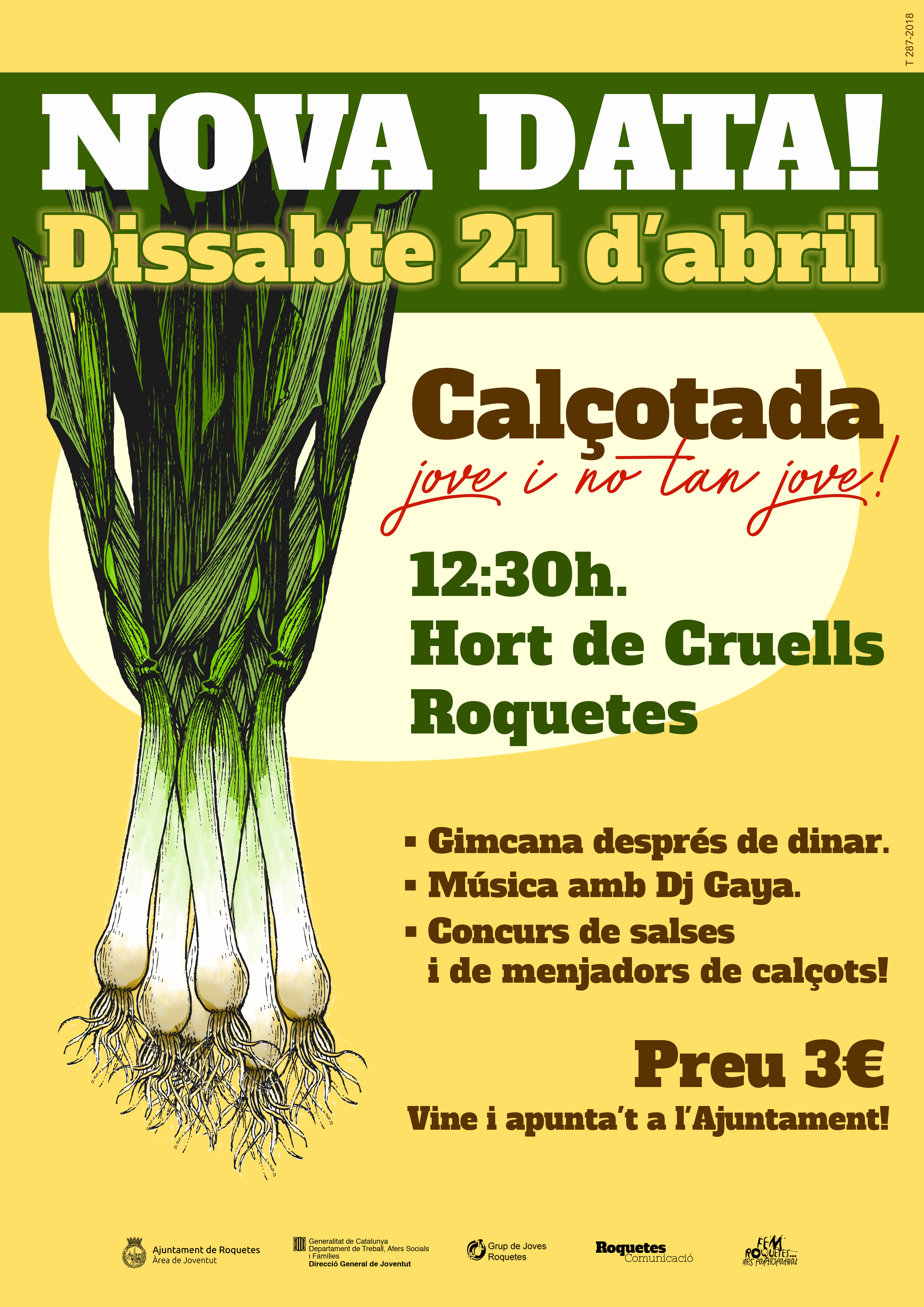 Cartell calcotada2018 NOVA DATA